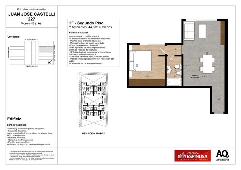 Foto Edificio en Moron Sur Castelli 200 número 17