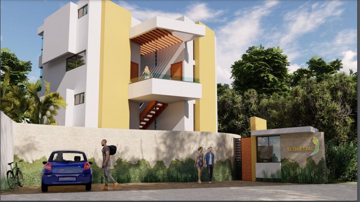 Foto DESARROLLO - Condominio en  en  Tulum , Quintana Roo  Desarrollo EL QUETZAL en Venta, Tulum, Q. Roo, Clave CLAU39