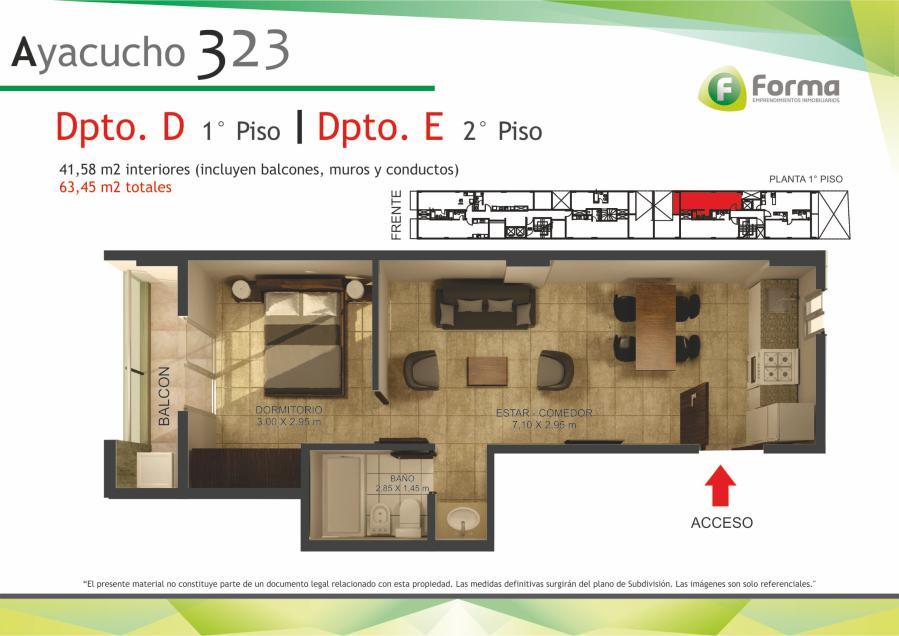 Foto Edificio en Barrio Sur AYACUCHO 232 número 14