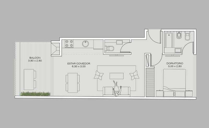 Foto Edificio en Colegiales Concepcion Arenal 3560 número 11