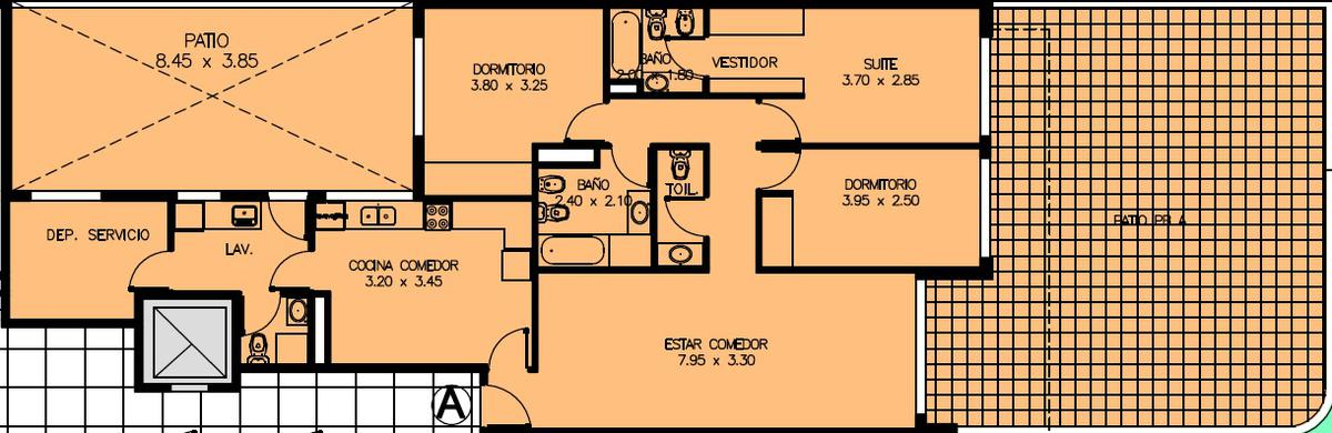 Foto Edificio en Flores Felipe Vallese 2751 número 33