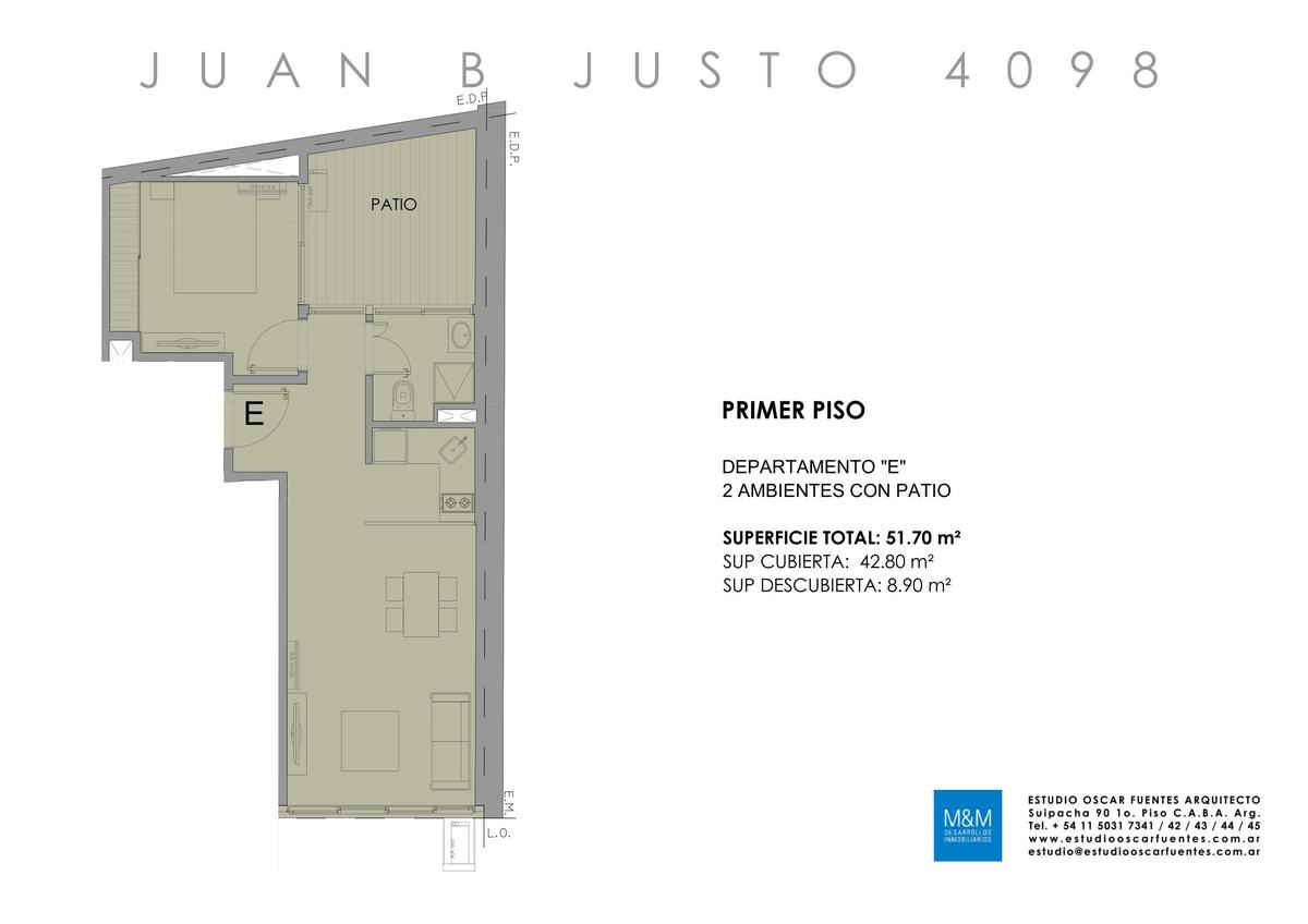 Foto Edificio en Caballito Juan B Justo 4098 número 20