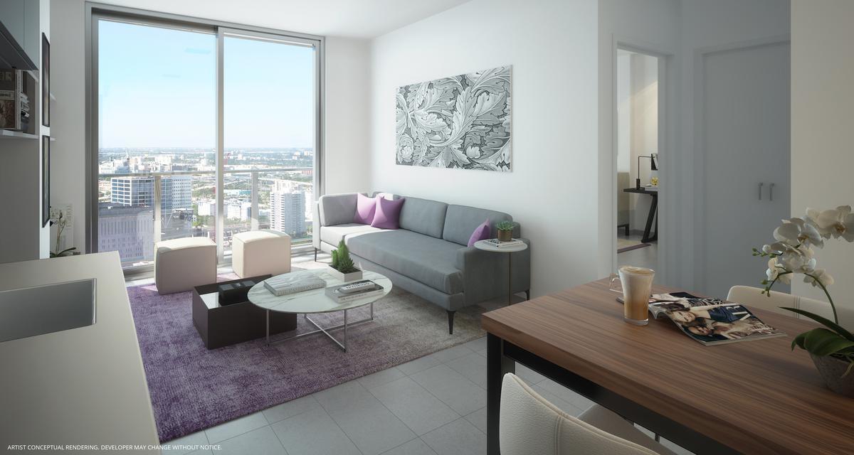 Foto Edificio en Miami-dade NE 2 nd ave, downtown miami  número 6