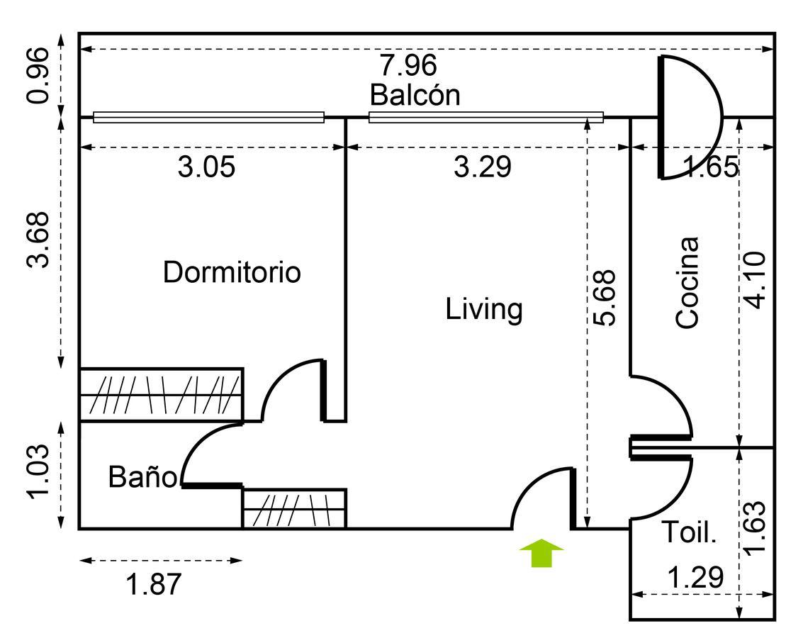 Emprendimiento Costa Rica 4192 en Palermo Soho