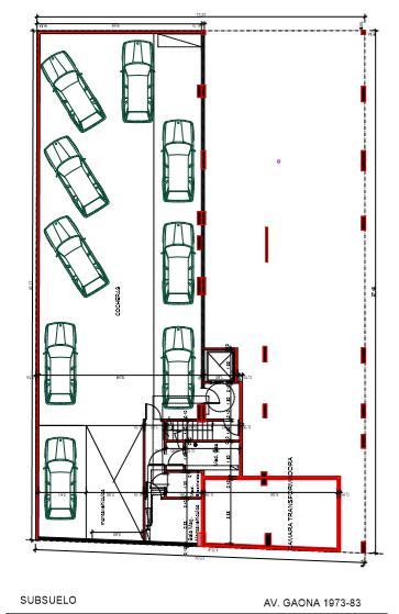 Foto Edificio en Caballito Norte Edificio de 3 y 4 ambientes. número 7