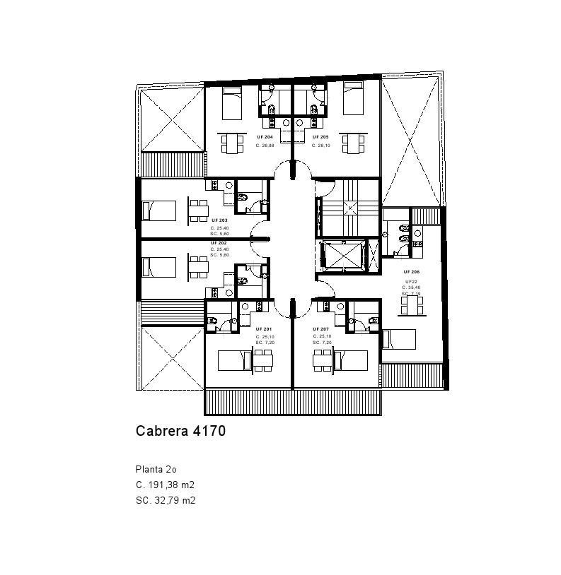 Emprendimiento CASA CAMPUS - Cabrera 4170 en Palermo
