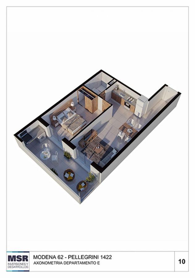 Foto Edificio en Centro AVENIDA PELLEGRINI 1422 número 13