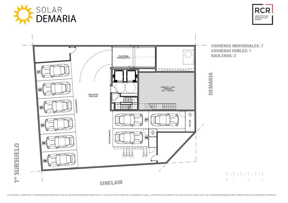 Foto Edificio en Palermo Nuevo Demaría y Sinclair número 12