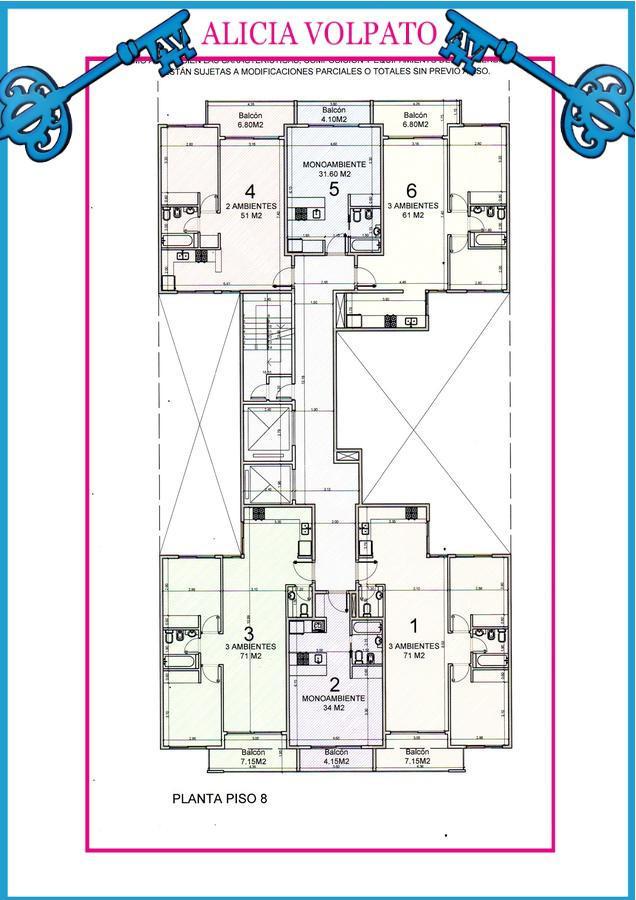 Foto Edificio en Wilde LAS FLORES 535 número 14