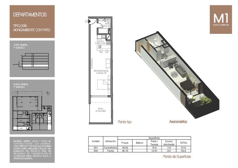 Foto Edificio en Punta Carretas MONTEVIDEO UNO | Ariosto & F. García Cortinas   número 9