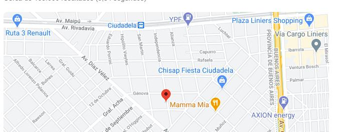 Foto Edificio en Ciudadela INDEPENDENCIA 457/465 número 8