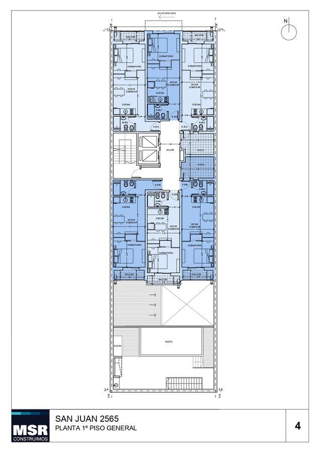 Foto Edificio en Lourdes SAN JUAN 2565 número 7