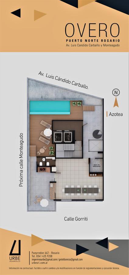 Foto Edificio en Puerto Norte Av. Luis Candido Carballo y Monteagudo número 11
