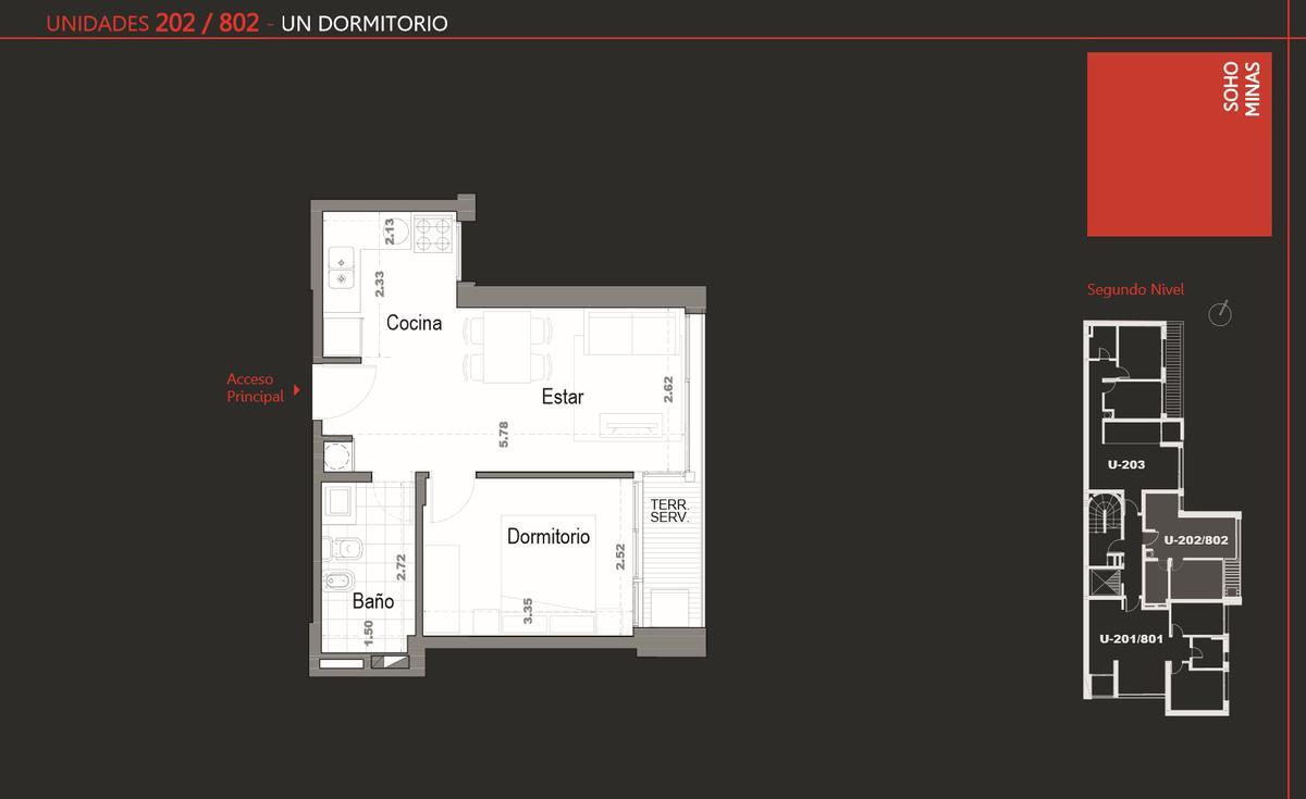 Foto Edificio en Cordón Apartamentos de 1 y 2 dormitorios SOHO Minas número 6