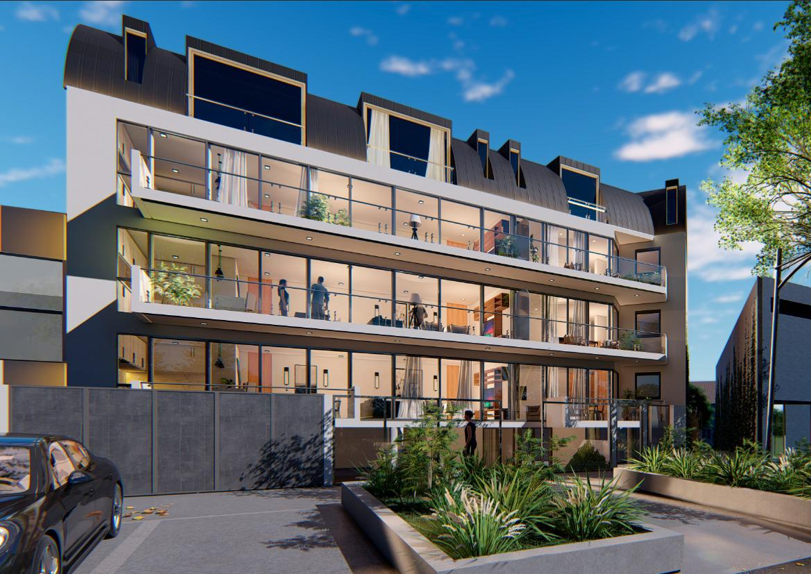 Exclusivo edificio de 4 plantas, 8 unidades de vivienda en Victoria, Punta Chica-0