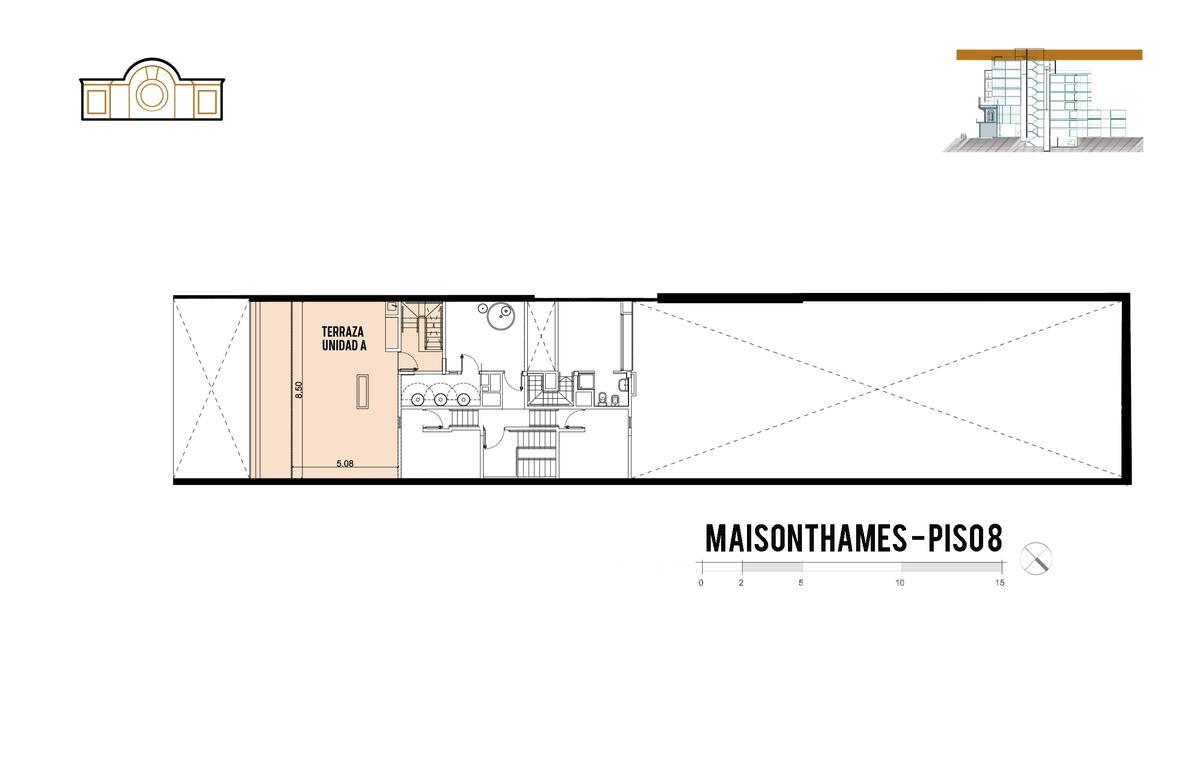 Foto Edificio en Palermo Thames 2400 número 13