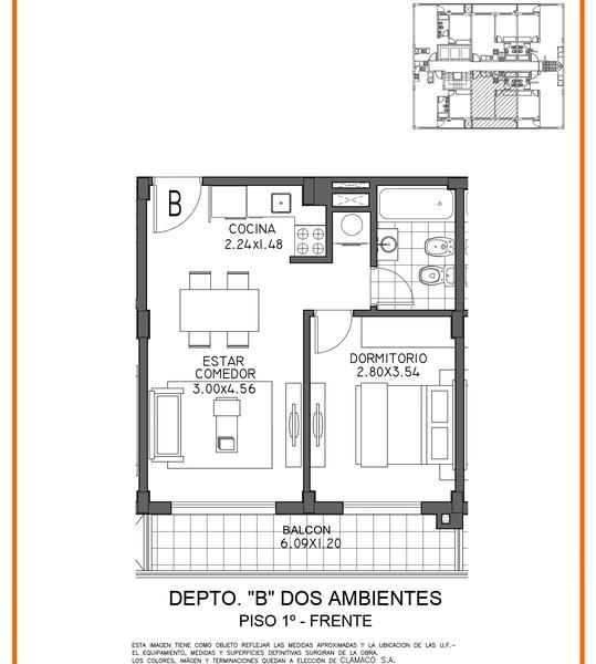 Foto Edificio en Moron Sur Mariano Moreno 700 número 12
