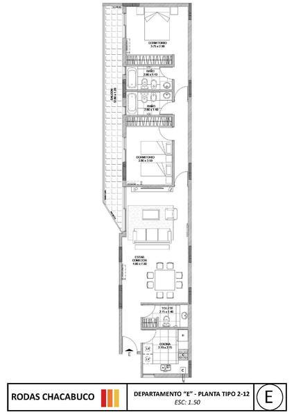 Foto Edificio en Nueva Cordoba Chacabuco 1142- Rodas Chacabuco número 14