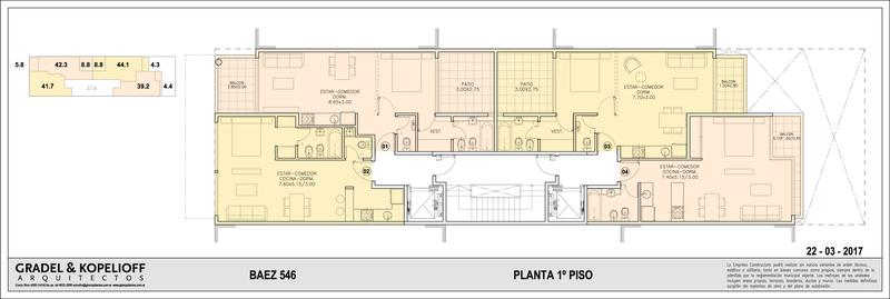 Foto Edificio en Las Cañitas BAEZ 546 número 3