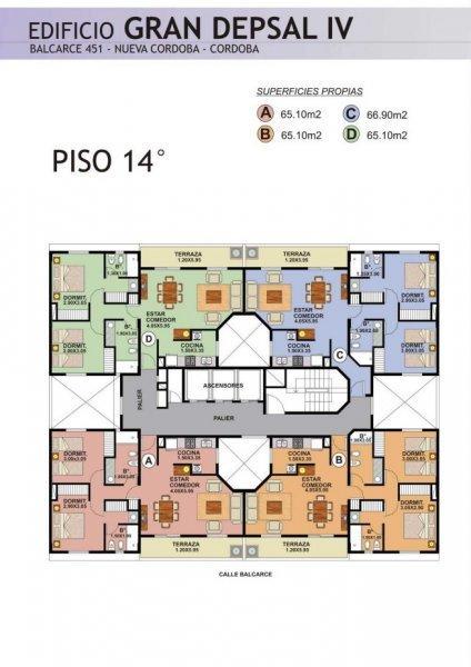 Foto Edificio en Nueva Cordoba Balcarse 451 número 8