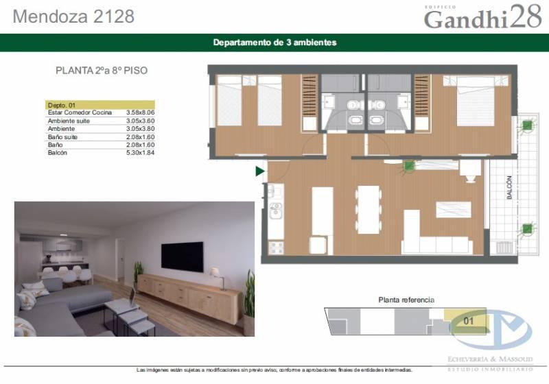Foto Edificio en Centro Mendoza 2128 número 6