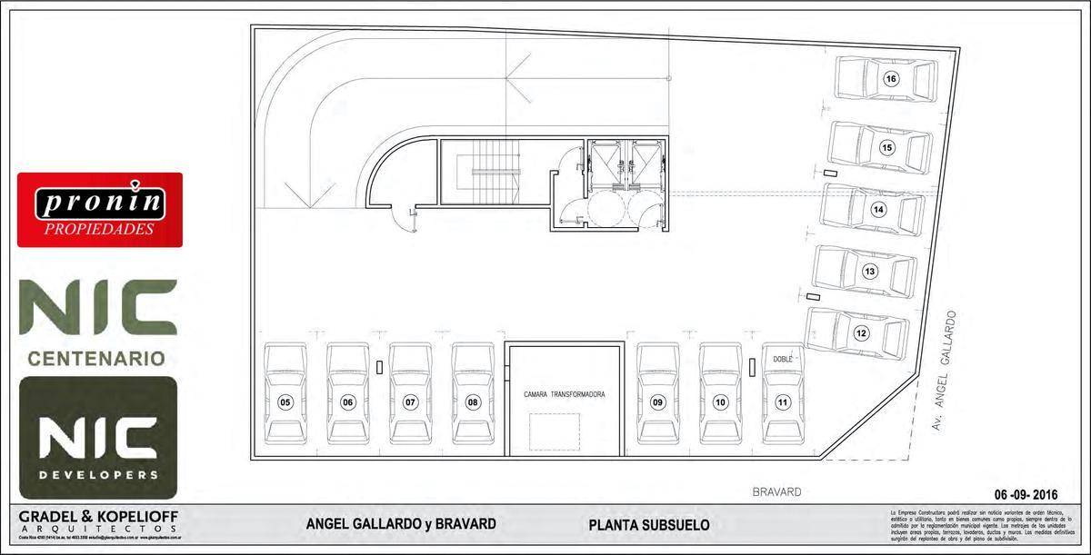 Foto Edificio en P.Centenario             Av Angel Gallardo y Bravard           número 7