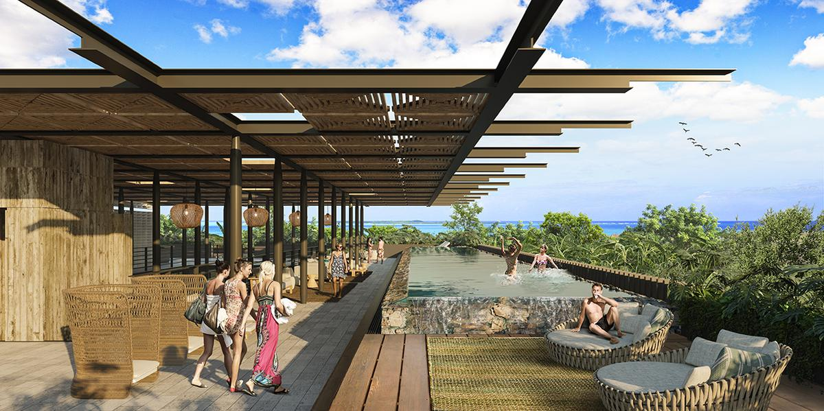 Foto Condominio en Playa del Carmen VENTA DEPARTMENTO PLAYA DEL CARMEN  número 4