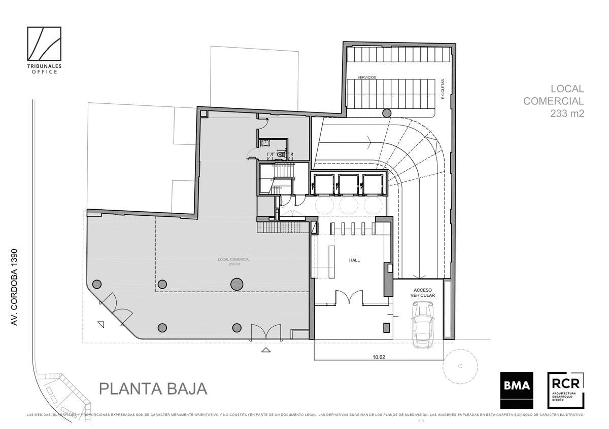 Foto Edificio de oficinas en Tribunales URUGUAY esquina CORDOBA   número 9