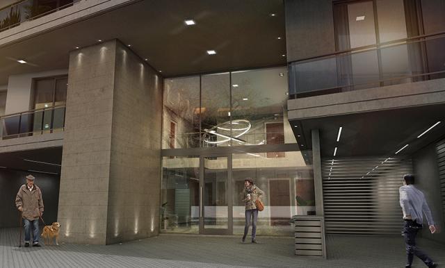 Foto Edificio en Centro Pellegrini 1977 número 13
