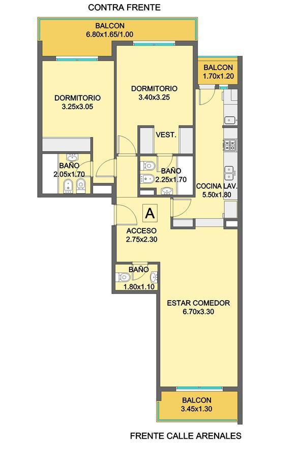 Foto Edificio en Chauvin Arenales 2861 número 7