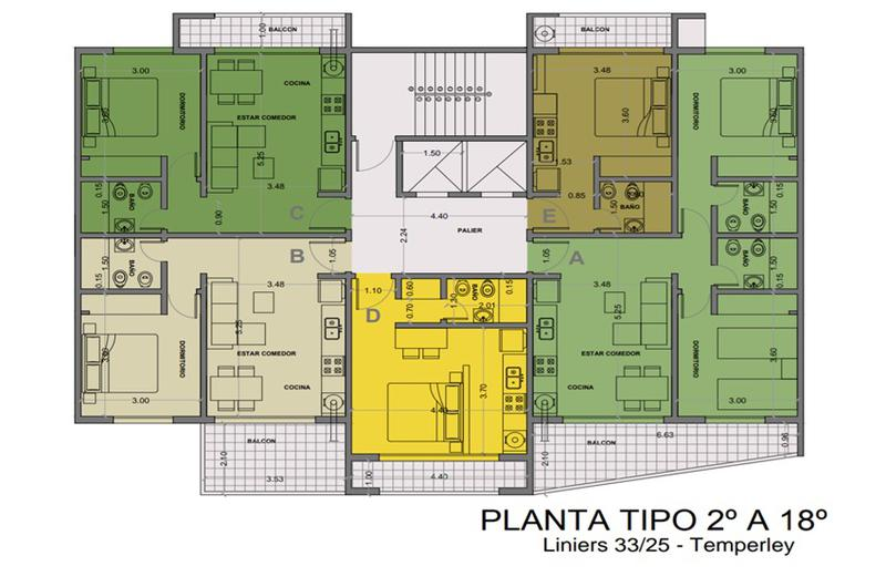 Foto Edificio en Temperley Oeste Liniers 25 número 6