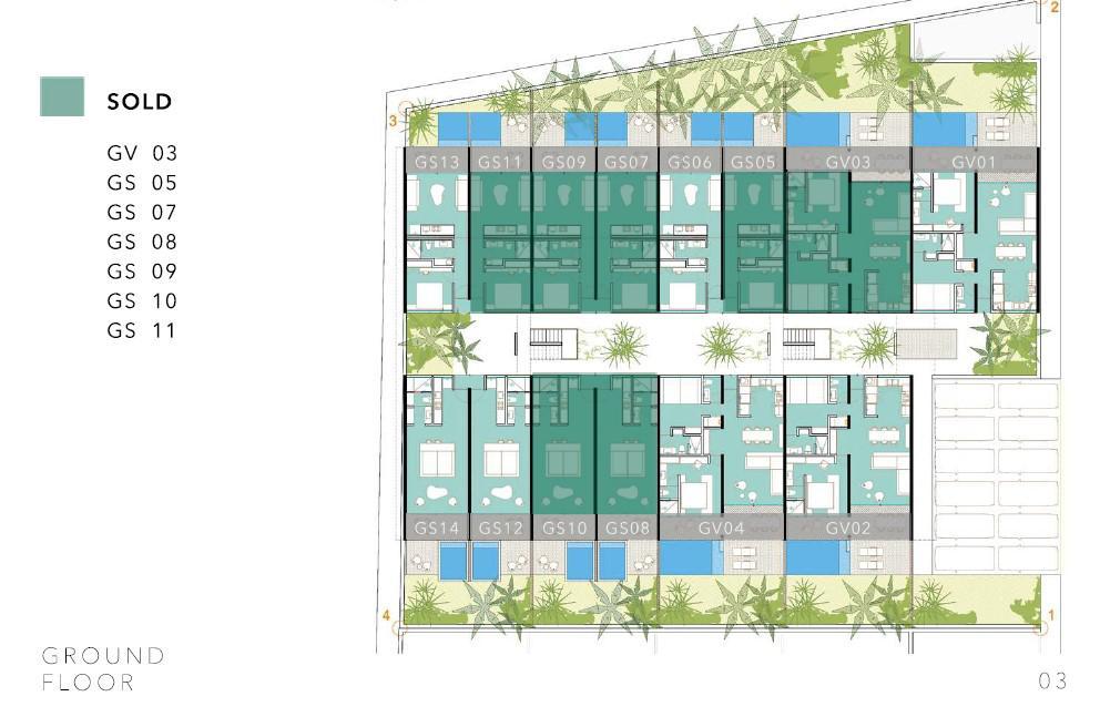 Foto Condominio en La Veleta Nuevo Condominio de lujo  a entrega inmediata en La Veleta, Tulum número 17