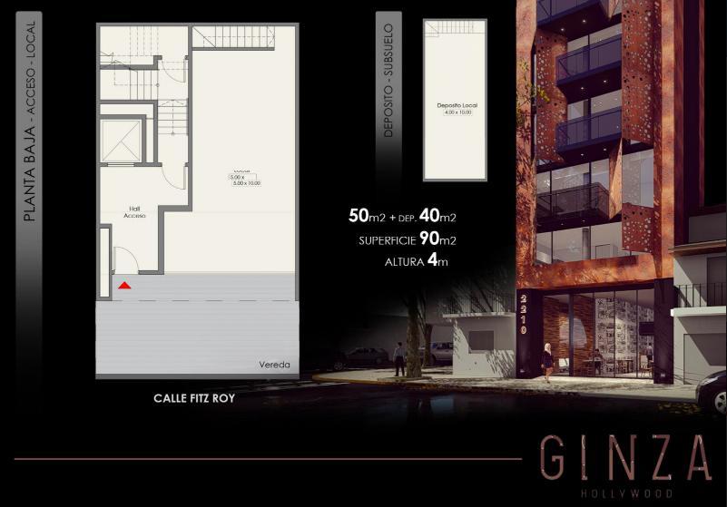 Foto Edificio en Palermo Fitz Roy 2210 número 1