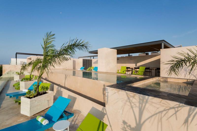 Foto  en Zazil Ha Coco Beach a una cuadra del Mar, Playa del Carmen. Quintana Roo.