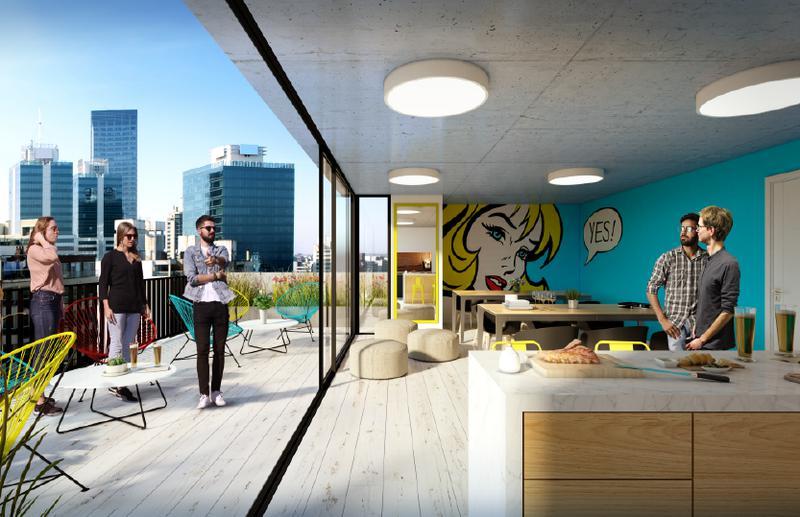 Foto Edificio en Pocitos Nuevo ZONA WTC número 6