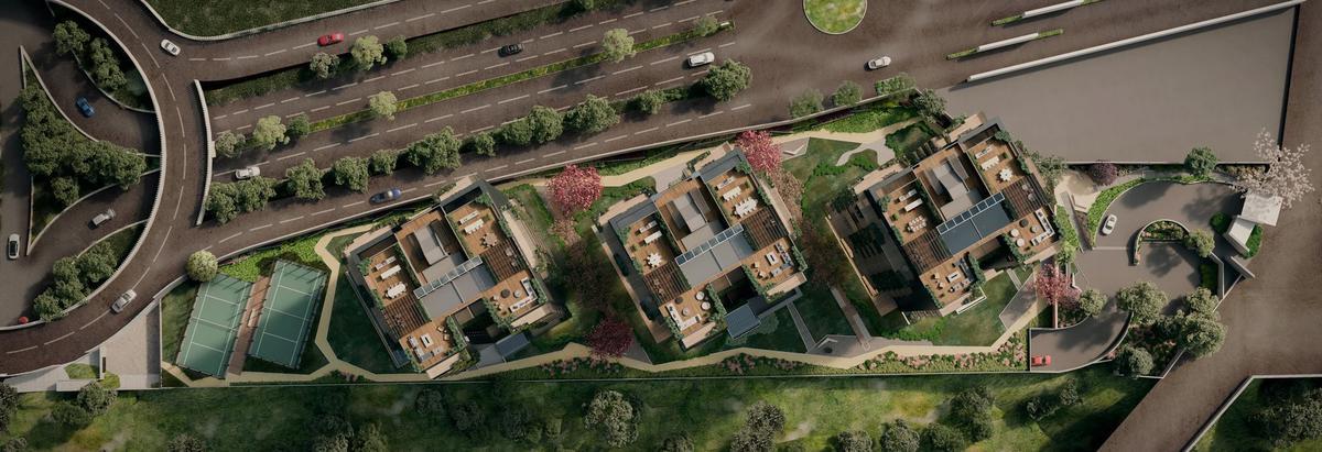 Foto Edificio en San Mateo Tlaltenango Av. de los poetas 100 número 2
