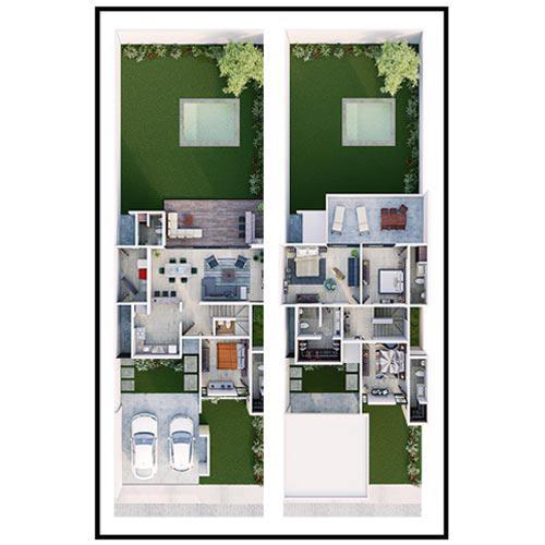Foto Condominio en Pueblo Cholul Casas en Magnolia Residencial desde 2 MDP número 11