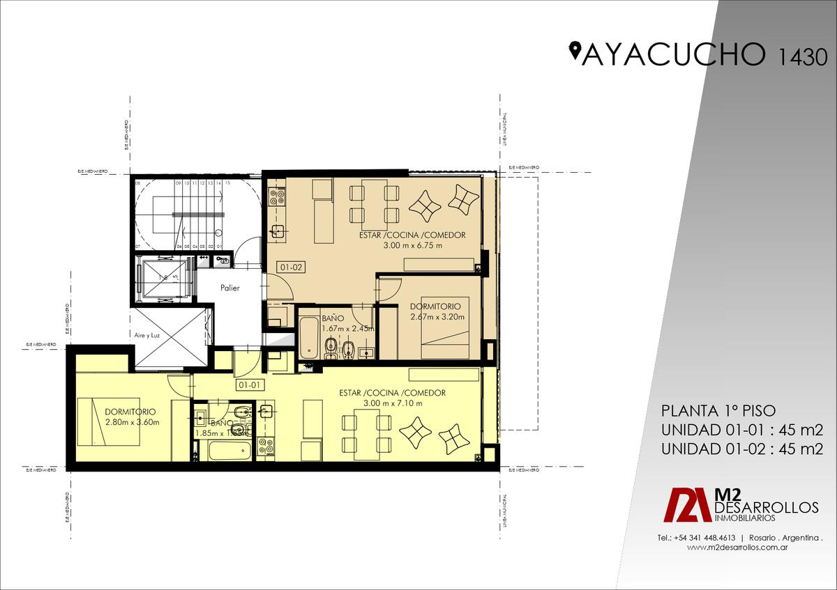 Foto Edificio en Martin AYACUCHO 1430 número 7