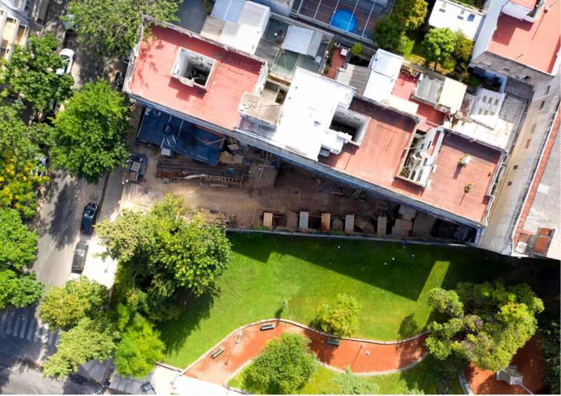 Foto Edificio en Caballito Frente a la plaza del Cid Campeador número 11