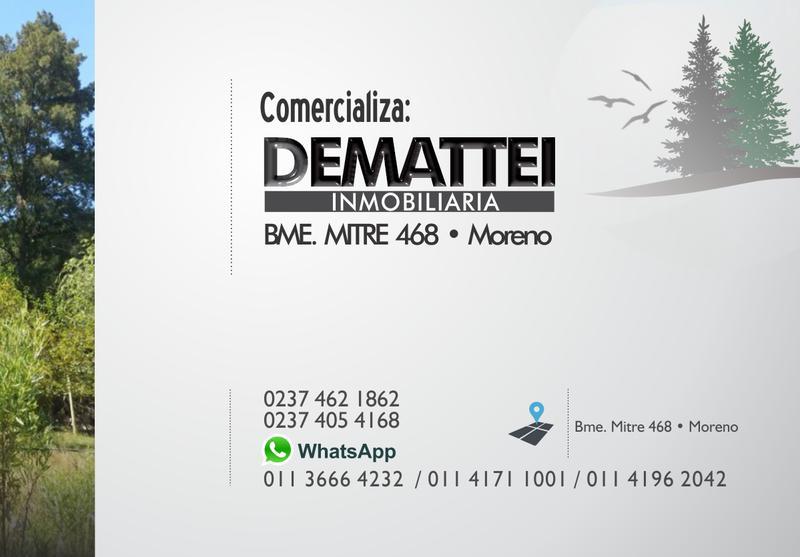 Foto Terreno en Venta en  La Reja,  Moreno  Lote Nº3 Pedernera y Alvarez Thomas - La Reja - Los Pinos - 20,20 x 29,71 Mts.