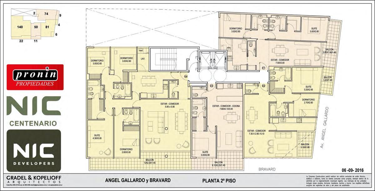Foto Edificio en P.Centenario             Av Angel Gallardo y Bravard           número 9