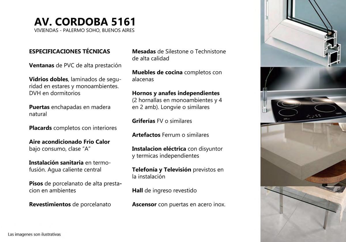 Foto Departamento en Venta en  Palermo ,  Capital Federal  Córdoba al 5100 PB D