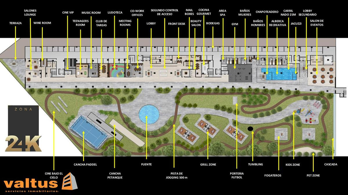 Foto Condominio en Lomas del Tecnológico ESTRENA DEPARTAMENTO EN ZONA PRIVILEGIADA PROYECTO 24K POR ENCIMA DE TODO número 2