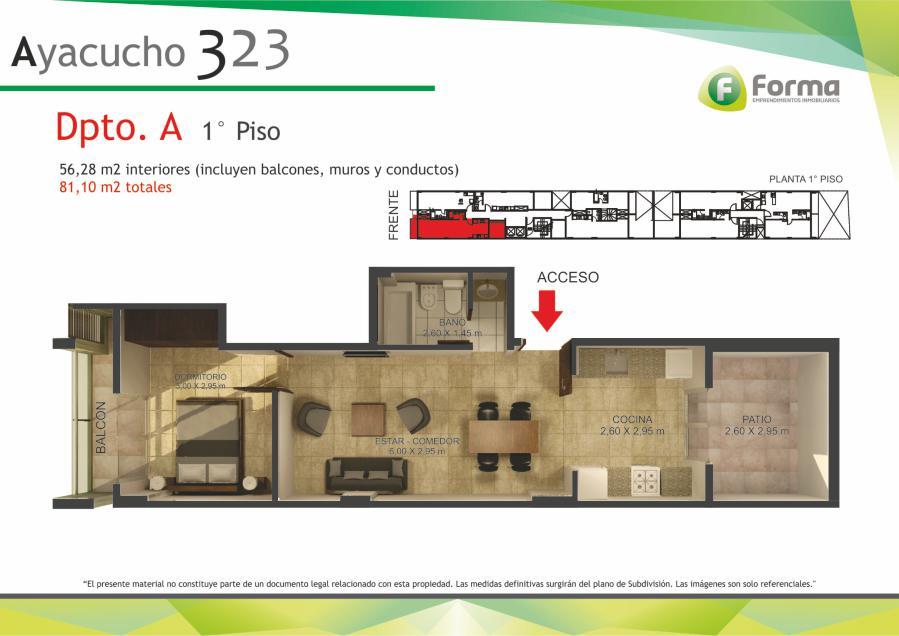 Foto Edificio en Barrio Sur AYACUCHO 232 número 12