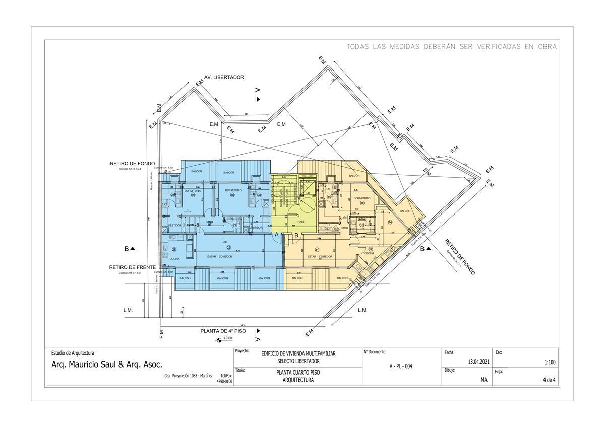 Exclusivo edificio de 4 plantas, 8 unidades de vivienda en Victoria, Punta Chica-8