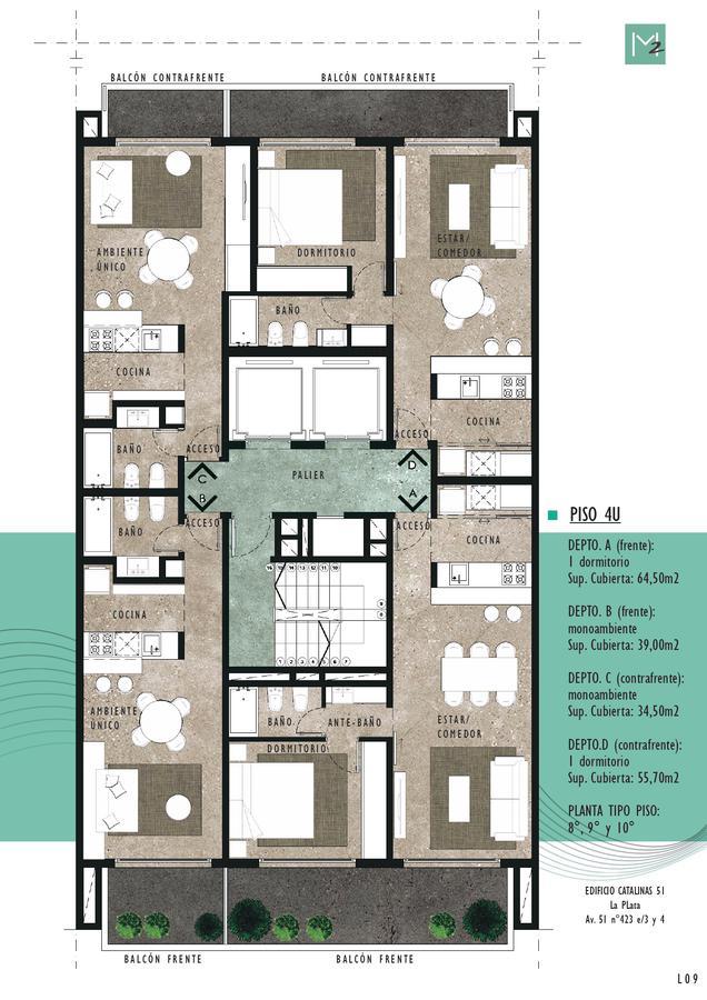Foto Edificio en La Plata 51 e 3 y 4 número 10