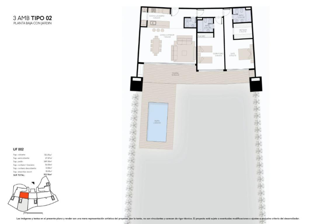 Foto Edificio en Yoo Nordelta YOO3 by ACQUA Excelencia en diseño y confort número 17