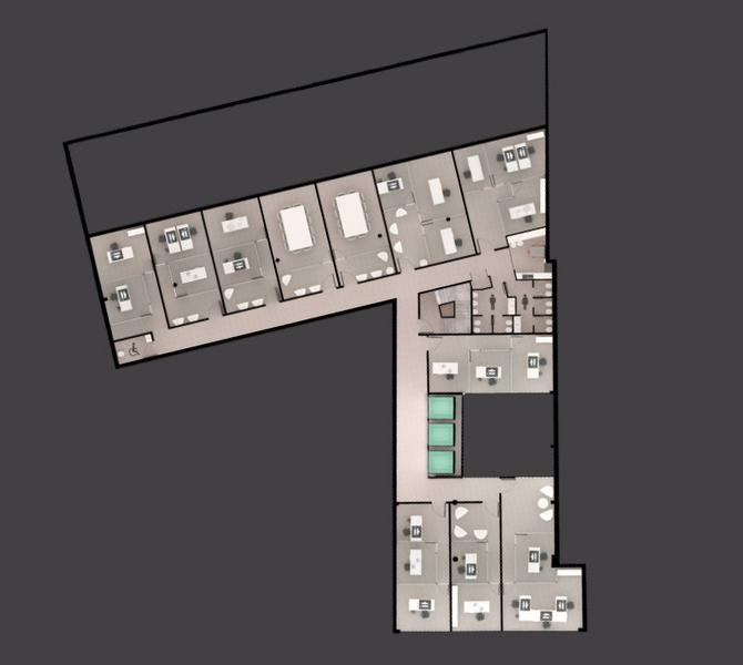 Foto Edificio de oficinas en Rosario Moreno 1700 número 9