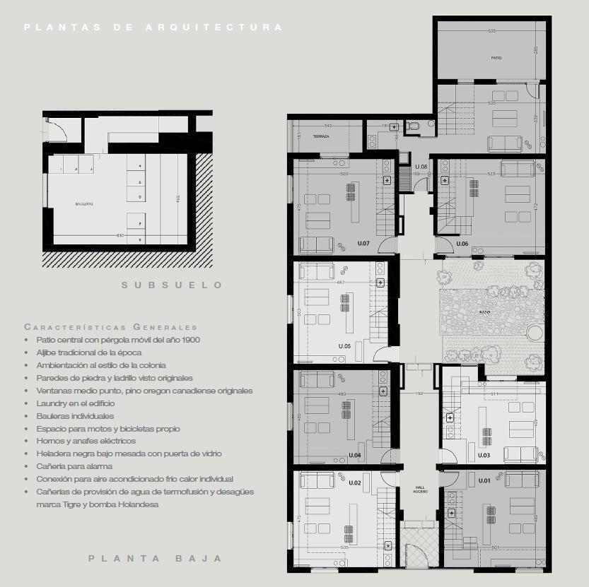 Foto Edificio en Colonia del Sacramento El Patio de las Glicinas número 15