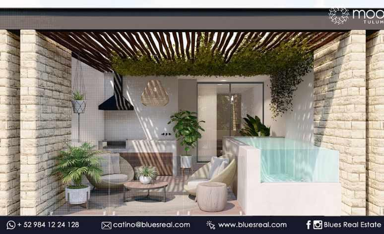 Unit picture Apartment in Sale in  Tulum ,  Quintana Roo  For sale apartments in Moots at Tulum | Blues Real | Code 668